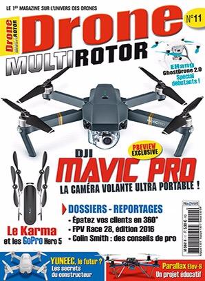 Première page drone multirotor 11